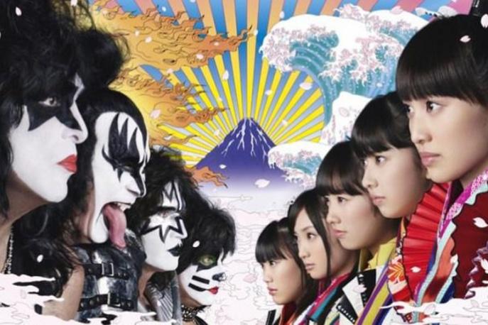 Kiss vs Momoiro Clover Z – ikona rocka nagrywa z japońską grupą pop