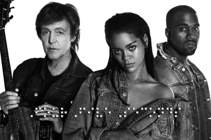 Paul McCartney i Kanye West w nowym utworze Rihanny