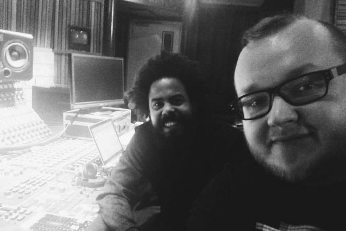 P.A.F.F. w studiu z członkiem Major Lazer