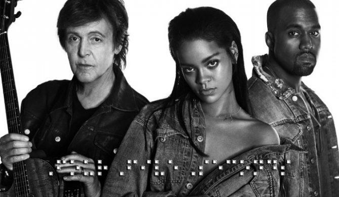 """Rihanna – """"FourFiveSeconds"""" ft. Paul McCartney & Kanye West – klip już w sieci"""