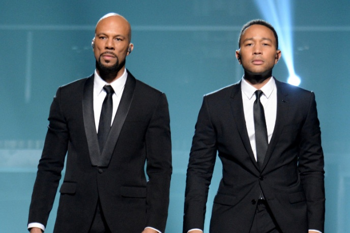 Common i John Legend z Oscarem
