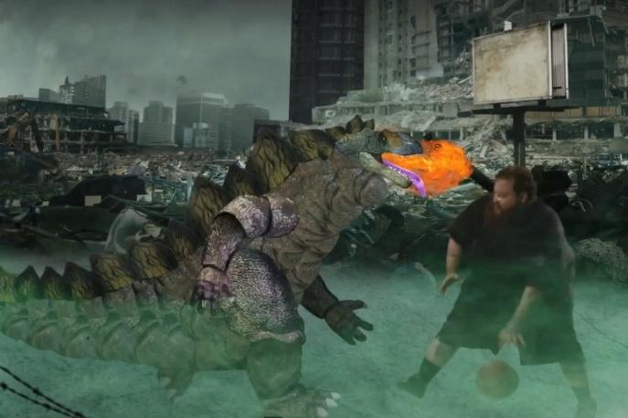 Action Bronson vs Godzilla (wideo)