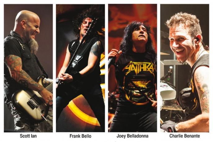 Anthrax nagrywa płytę. Nowy zwiastun w sieci