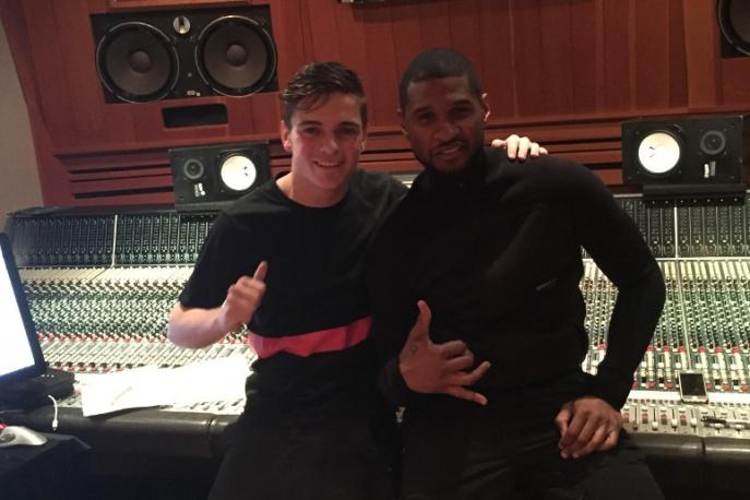 Martin Garrix nagrał z Usherem