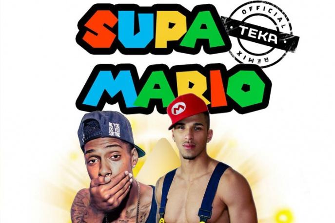 """Teka w remiksie """"Supa Mario"""" Sonny`ego Courta"""