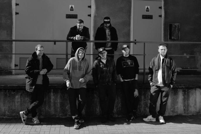 Sokół, Kosi, Stasiak, Ras, Steez i Mr Krime w trasie z Red Bullem