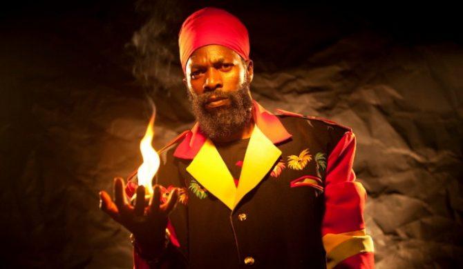 Czołowa jamajska gwiazda Capleton w Ostródzie