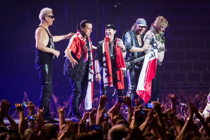 Scorpions zmiażdżyli Atlas Arenę