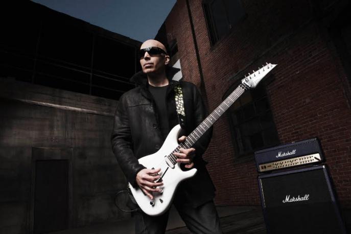 Joe Satriani – specjalne gitary z okazji 25-lecia współpracy z firmą Ibanez