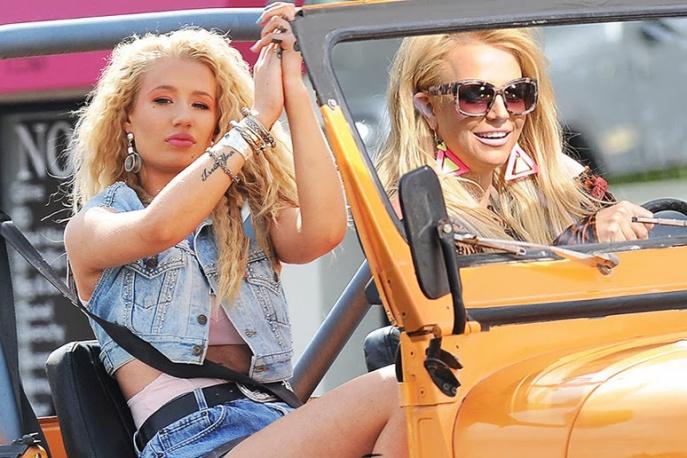 """Britney Spears i Iggy Azalea w klipie do """"Pretty Girls"""""""