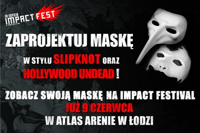 Konkurs: zaprojektuj maskę w stylu Slipknot i Hollywood Undead i zgarnij muzyczne nagrody