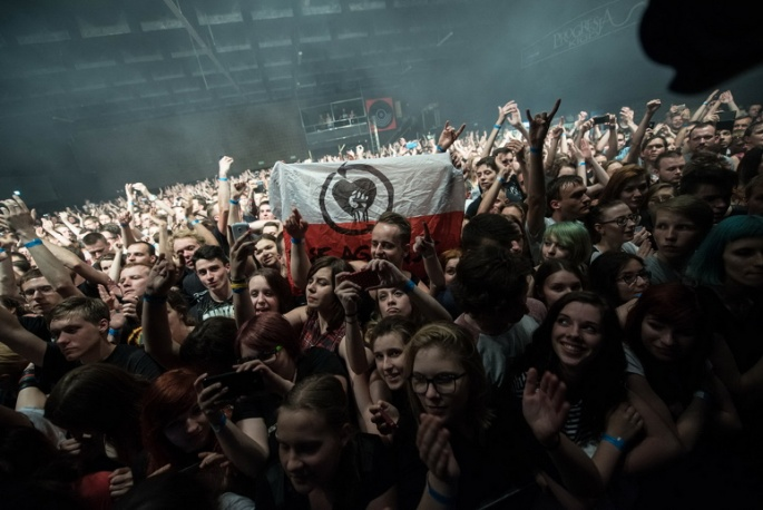 Energia i mnóstwo treści – relacja i zdjęcia z koncertu Rise Against