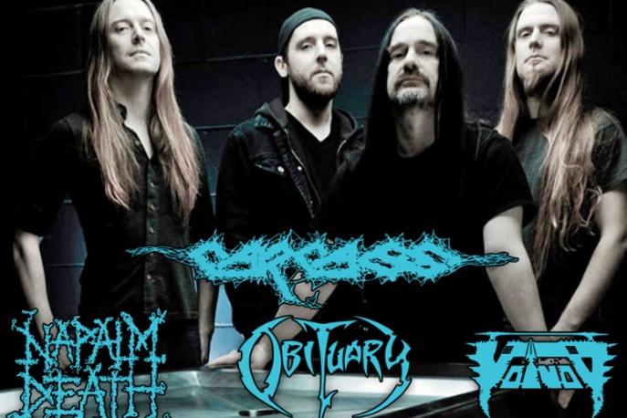 Carcass, Obituary, Napalm Death i Voivod na dwóch koncertach w Polsce