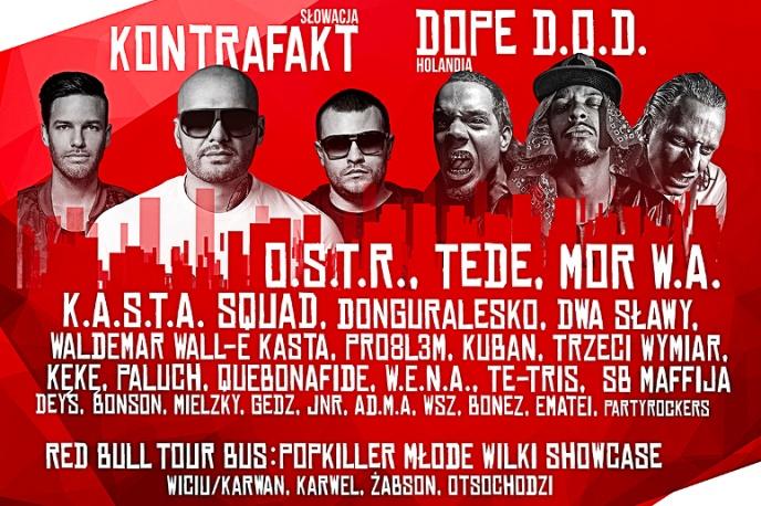 Znamy szczegółową rozpiskę Polish Hip-Hop Festivalu