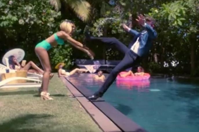 Nicki Minaj w nowym klipie Robina Thicke`a