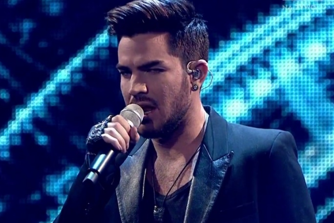 "Adam Lambert na żywo w ""The Voice of Poland"""
