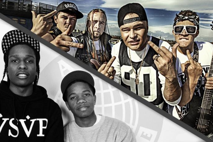 A$AP Ty Beats producentem singla grupy Nekromer