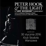 Peter Hook wraca do Polski
