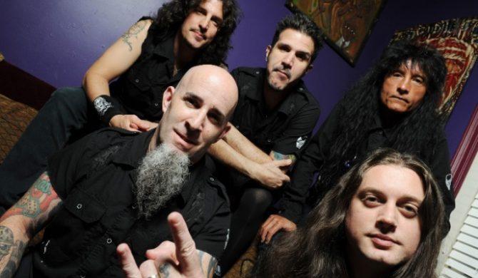 """Breathing Lightning"" – premierowy kawałek Anthraxu"