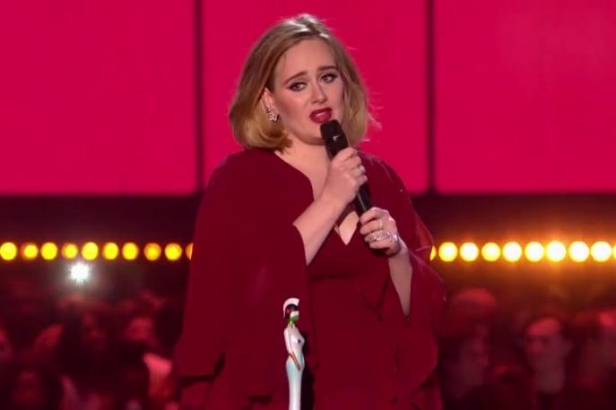 BRIT Awards: Adele największą triumfatorką gali
