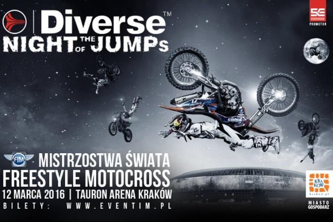 IMPREZA TYGODNIA: Diverse Night Of The Jumps w Krakowie