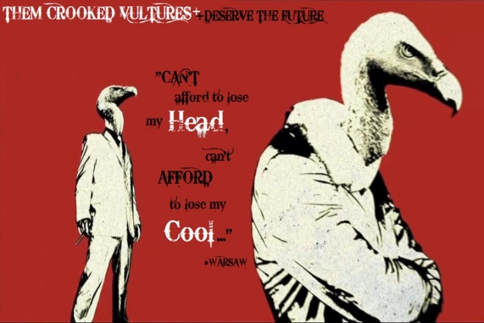 Posłuchaj Them Crooked Vultures