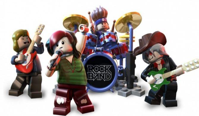 Do zobaczenia nowy wykonawca w Lego Rock Band