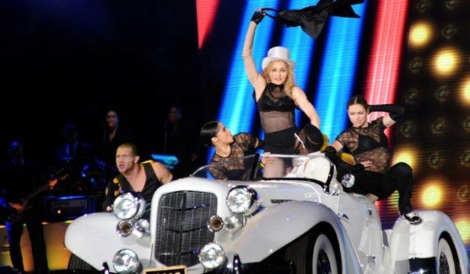 Madonna o Warszawie