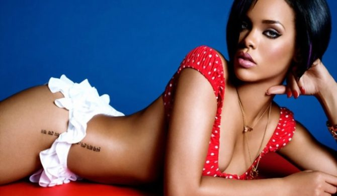 Rihanna nie gada z ojcem