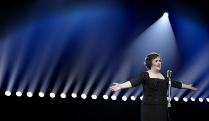 Susan Boyle będzie pracować dla Bonda?