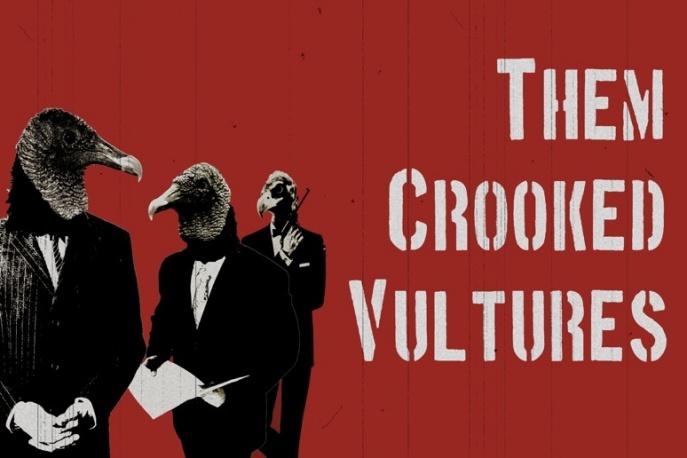 Them Crooked Vultures jeszcze nam pokaże!