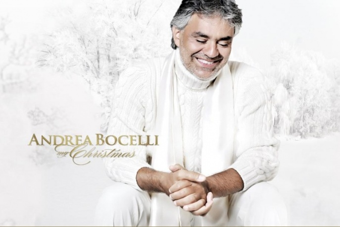 "Na żywo: Andrea Bocelli – ""White Christmas"" [video]"
