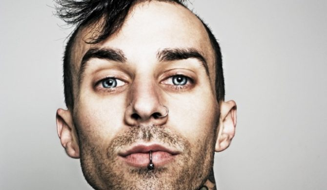 Perkusista Blink-182 z wokalistą Slipknot