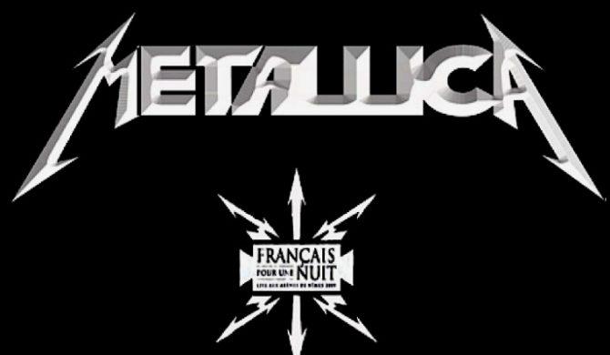 """Ukaże się """"Francais Pour Une Nuit"""" Metalliki [video]"""