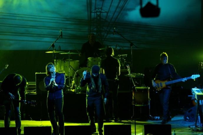 Archive i Groove Armada na Open'er Festival 2010.